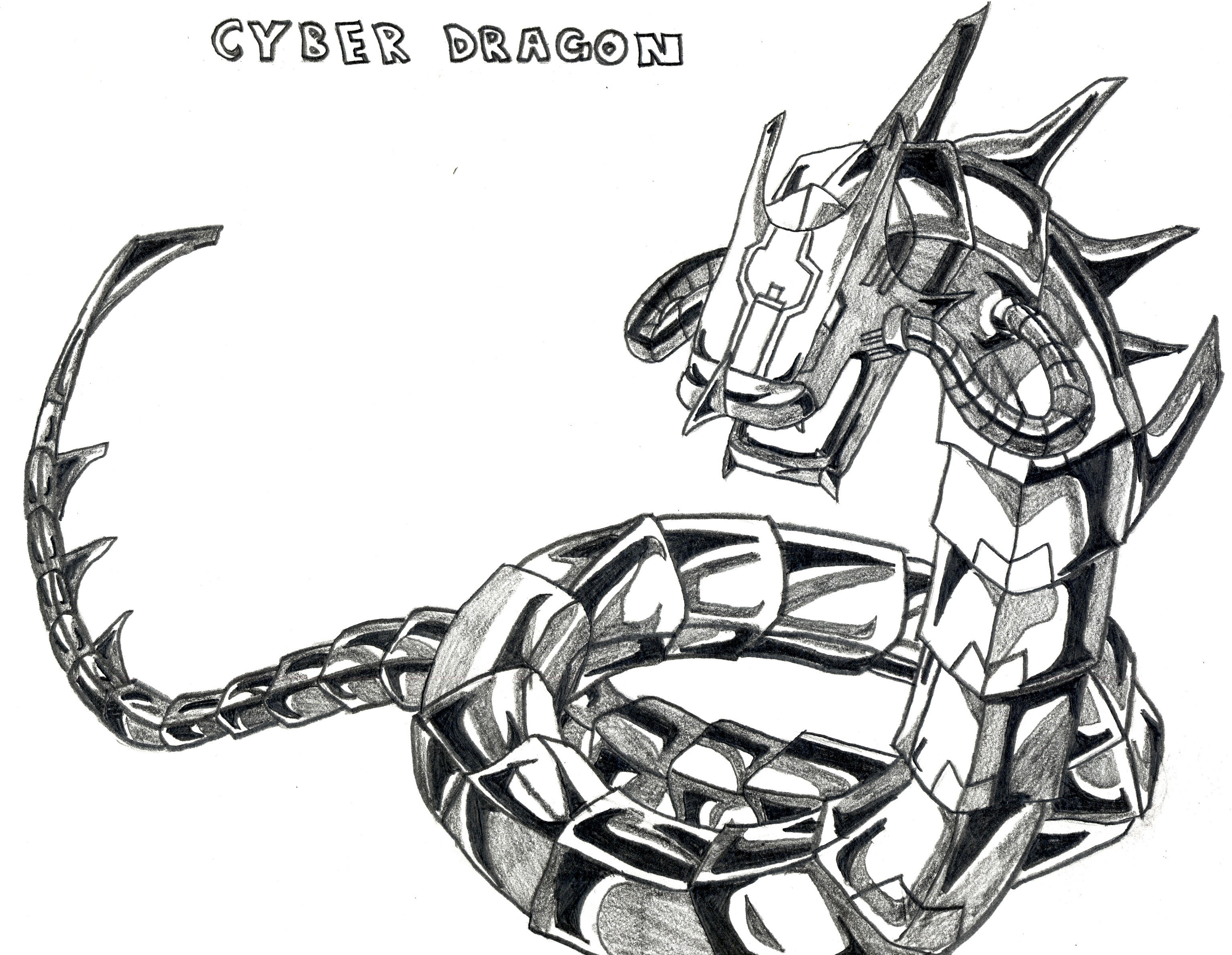 Cyber Dragon By Oracleofthemonument Full Resolution Narwhal Drawing With  This Howto
