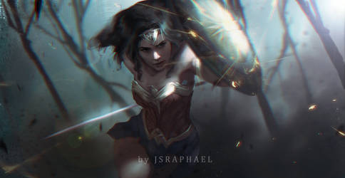 Wonder Woman by fate-fiction
