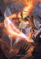 GODHUNT: Sun God Sol by fate-fiction