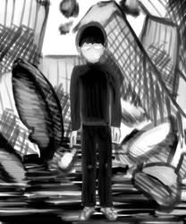 Mob Psycho 100 Fan art by Scadan
