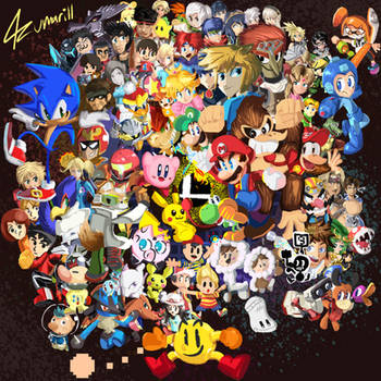 Nintendo All-Star! SUPER SMASH BROTHERS by 4zumarill