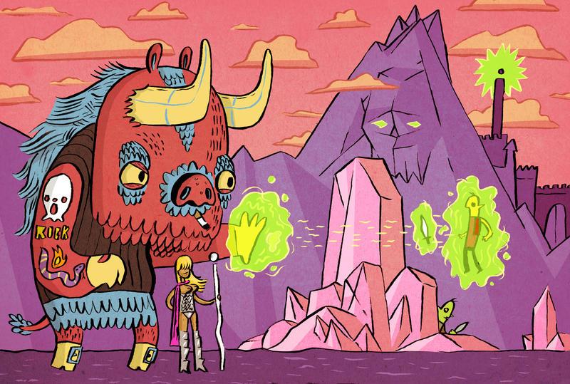 Awesome Minotaursum by MumblingIdiot