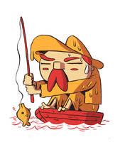 Fishyman by MumblingIdiot