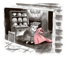 Mrs Arris by MumblingIdiot