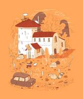 Farmhouse by MumblingIdiot