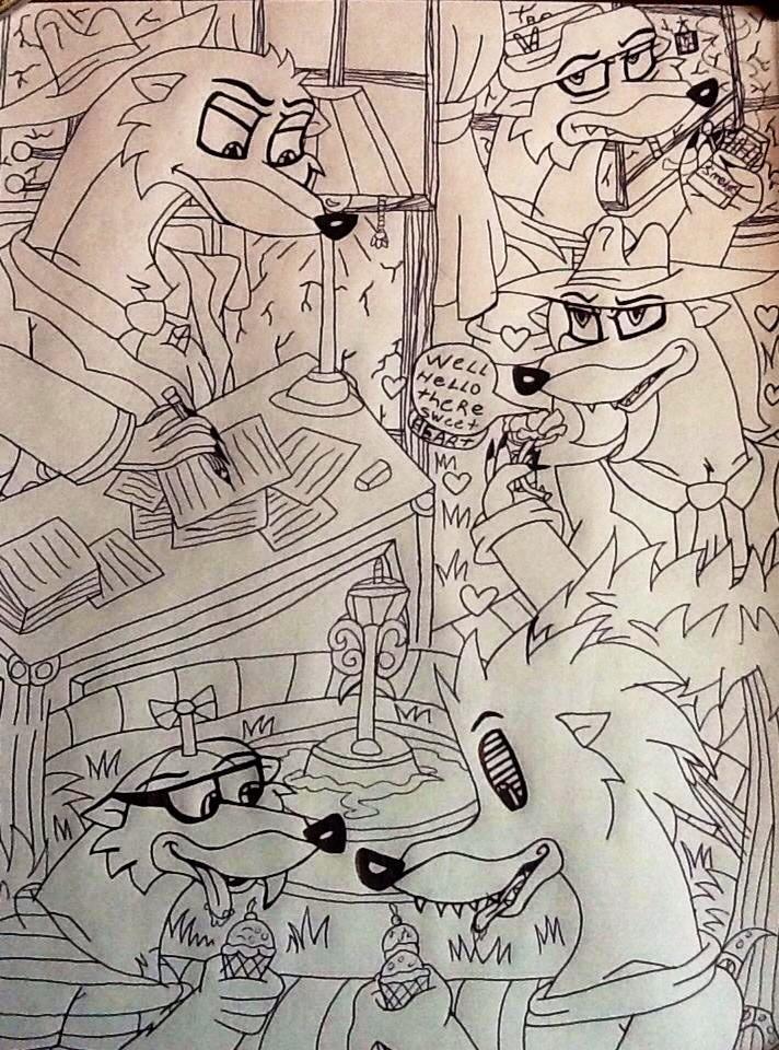 Toon patrol doodles :3 by 932-2063