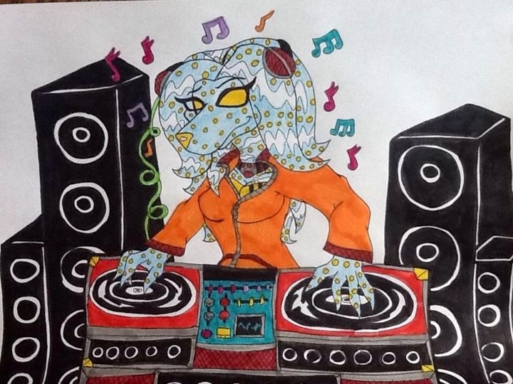 Harley doing the DJ by 932-2063