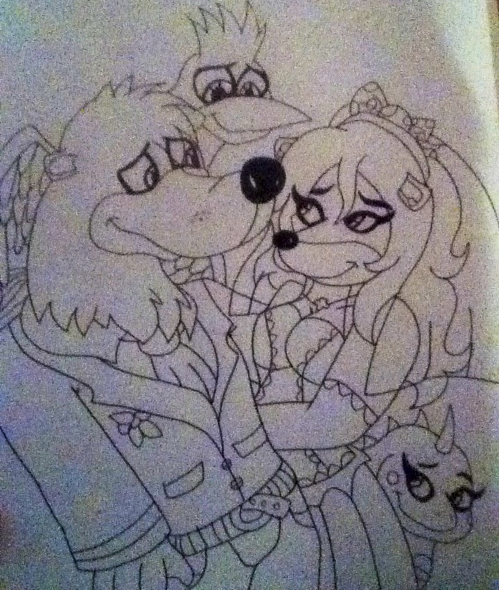 Art trade : Banjo x Grace's wedding X3 by 932-2063