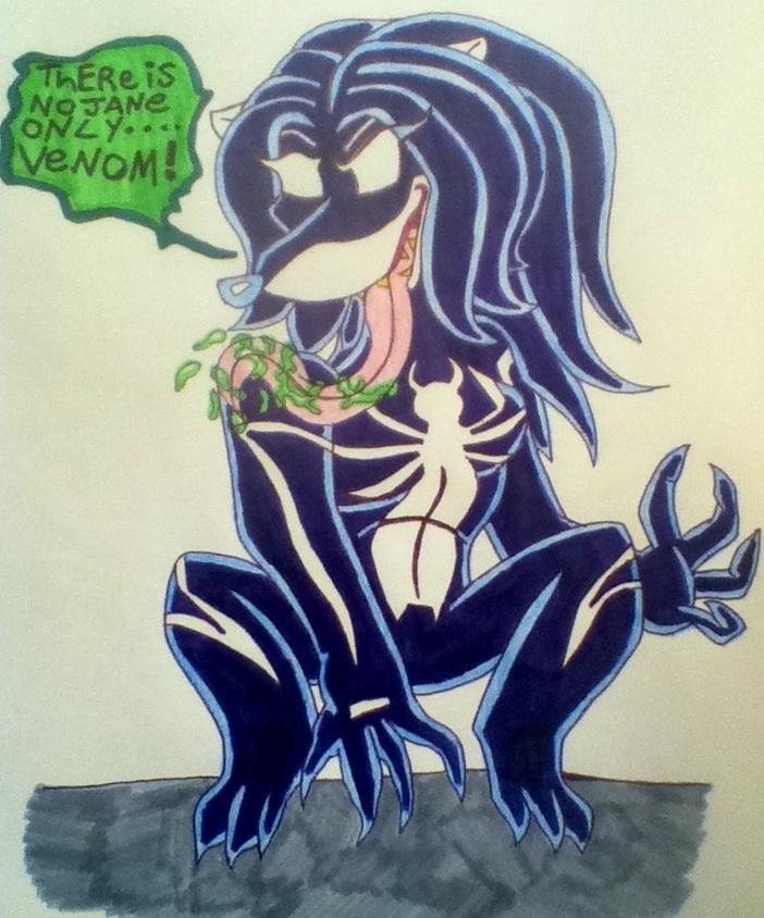 Jane as Venom by 932-2063