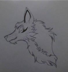 Niark wolf headshot