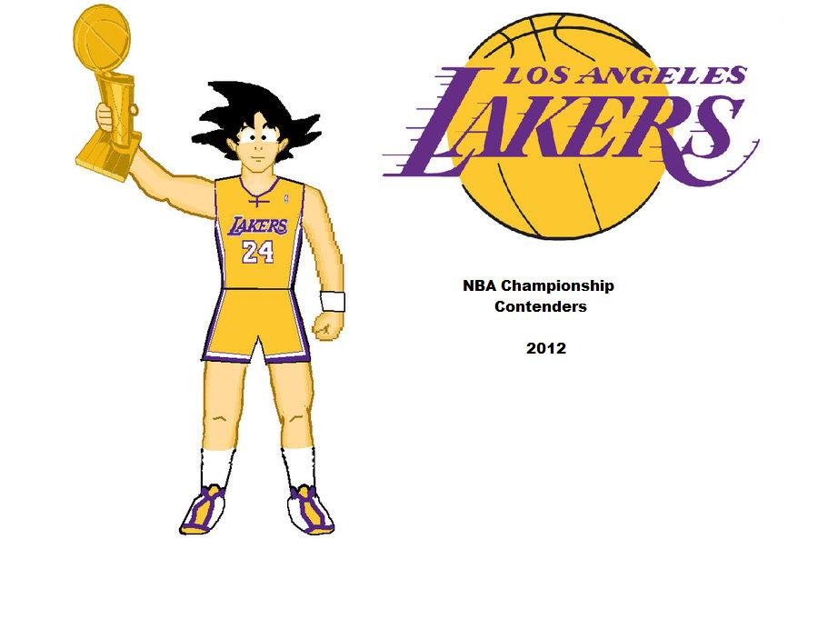 Goku Lakers 2 by gamuhammad
