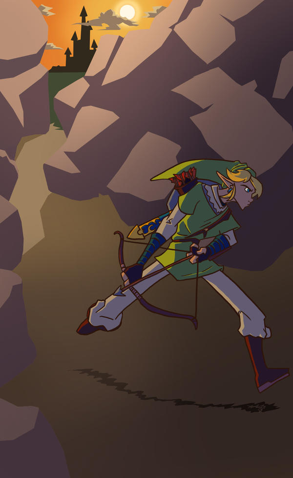 Link on the Move by Brakkenimation