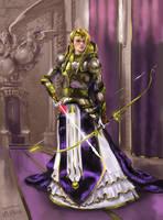 Not yet a queen by Brakkenimation