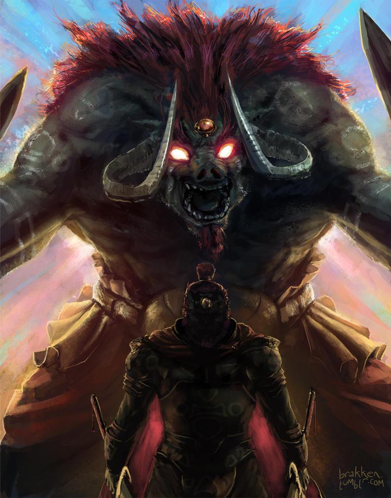 Beast by Brakkenimation
