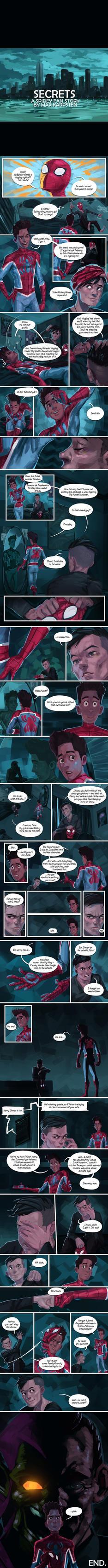 SECRETS - A Spidey Fan Story by Brakkenimation