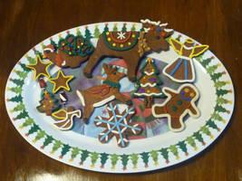 Christmas Cookie Ornaments by BlackHoleInAJar