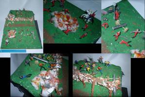 Battle of Bunker Hill Diorama by BlackHoleInAJar