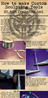 How-To: Custom Sculpting Tools 1 by BlackHoleInAJar