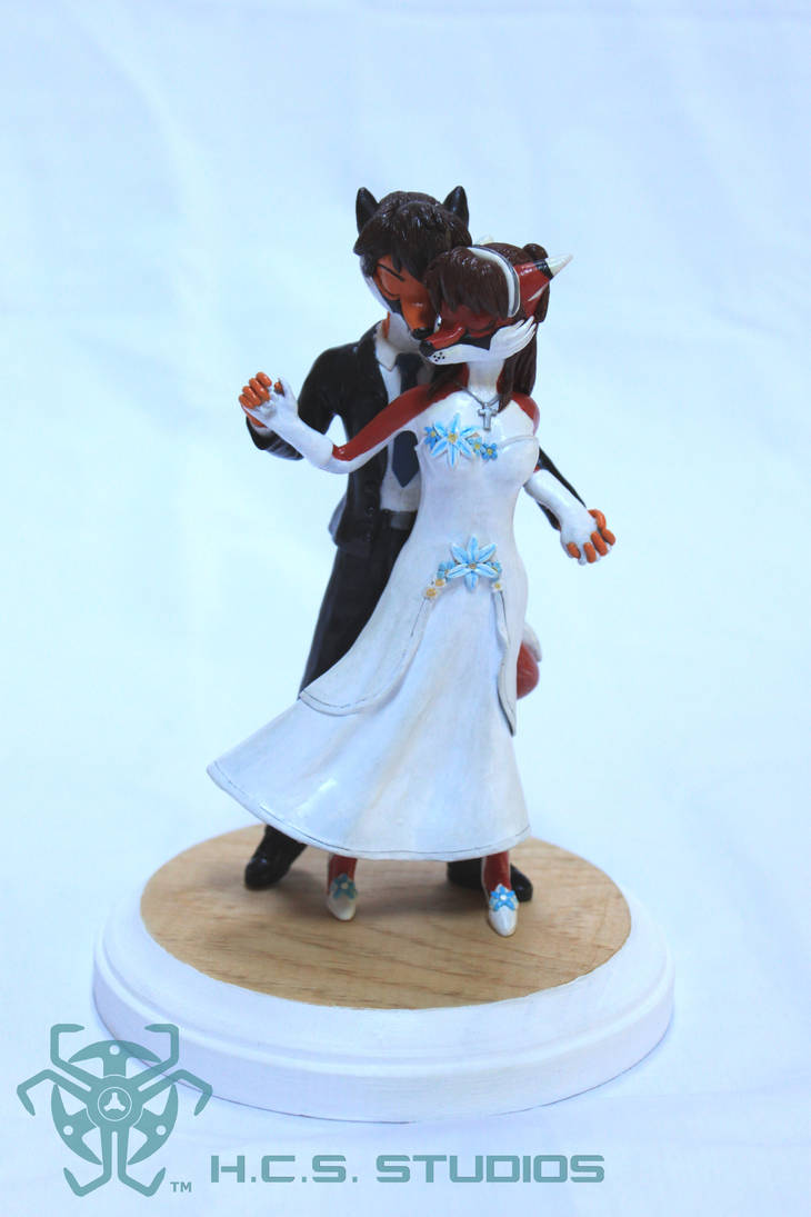 Scarlet and Will CakeTopper CM 1 by BlackHoleInAJar
