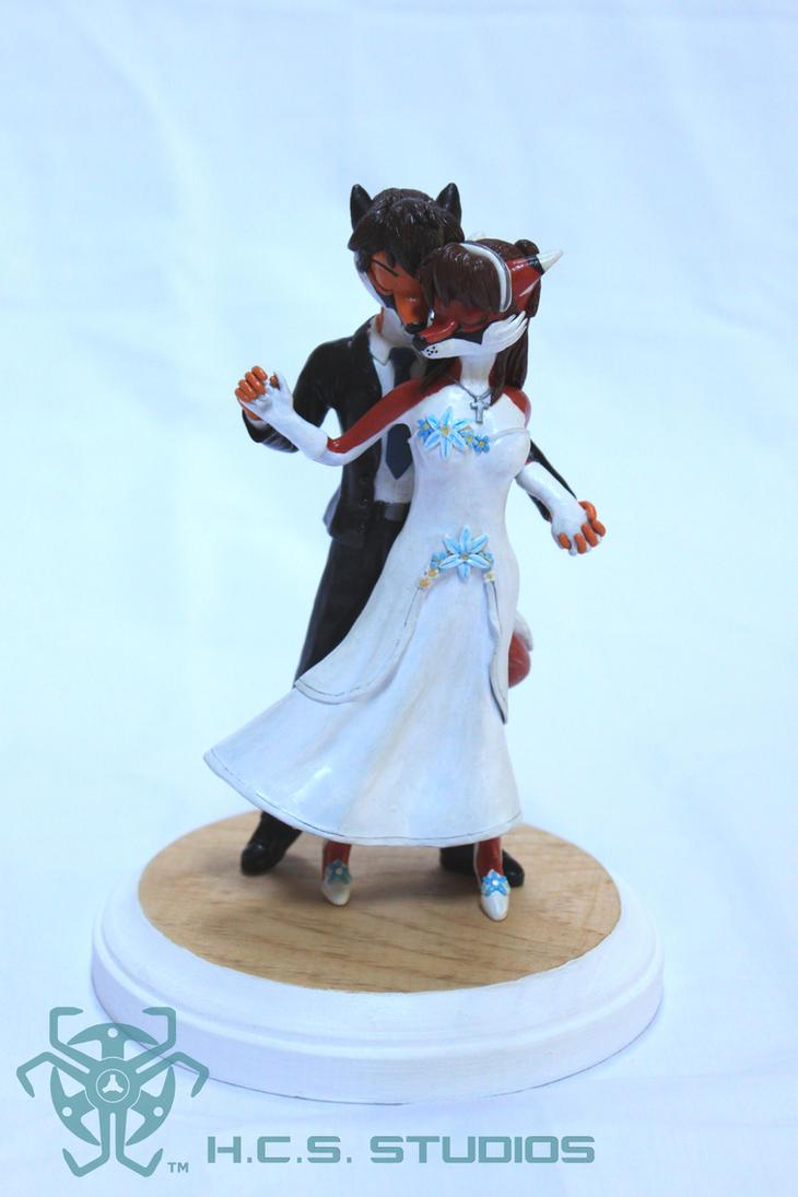Scarlet and Will CakeTopper CM 1 by BlackHoleInAJar