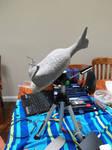 Pileated Woodpecker Tripod Mount_WIP