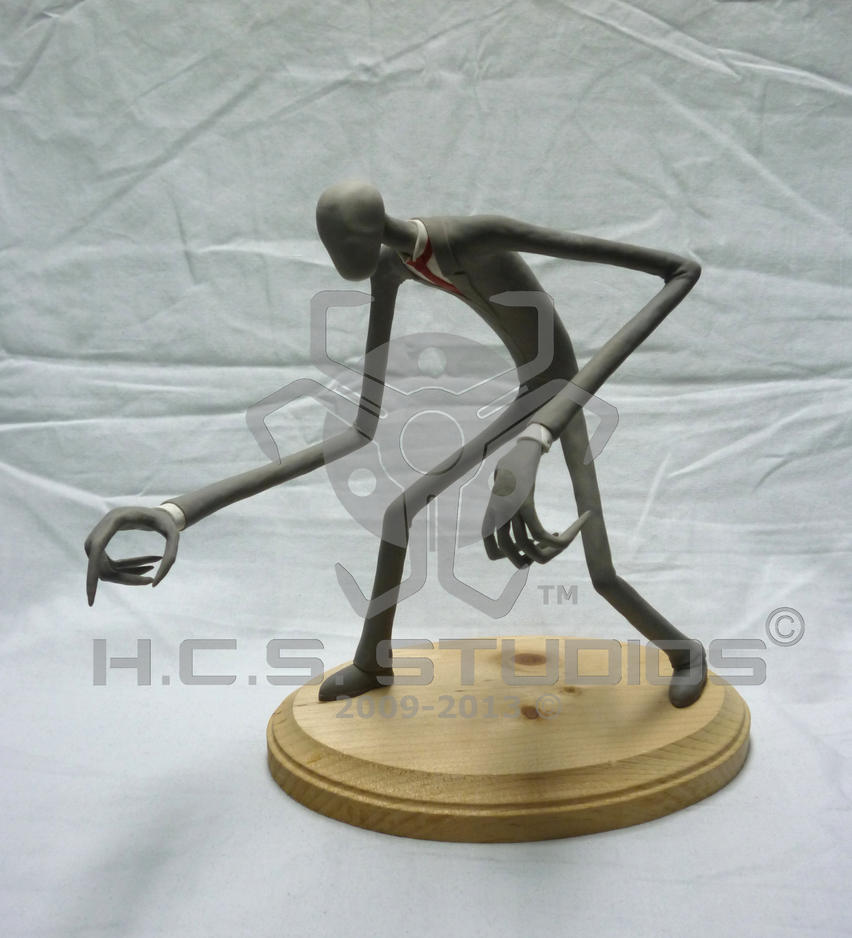 Slenderman sculpture by blackholeinajar on deviantart