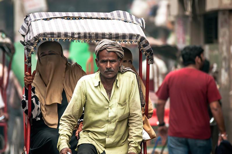 Rickshaw ride in Dehli by PasoLibre