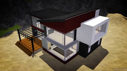 Modern Beach House by IrvanQadri