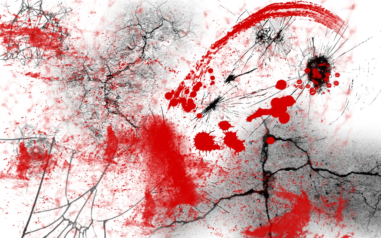 Blood Splatter by Shin...
