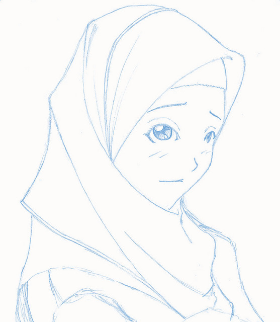 Hijab shoujo by cressalve