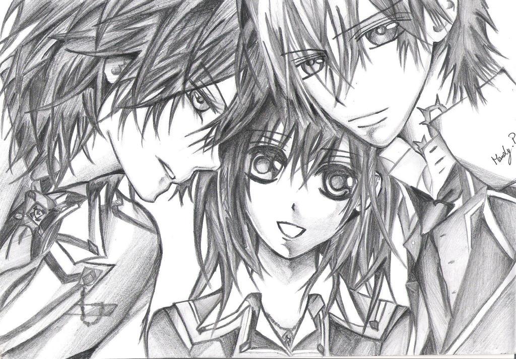 Vampire Knight Zero And Yuki And Kaname Vampire Knight- Yuki, ...