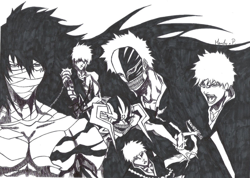 Bleach Ichigo By XxMandyChanxX