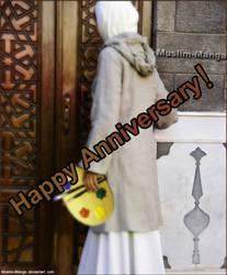 Happy Anniversary Muslim-Manga by Maryambunny