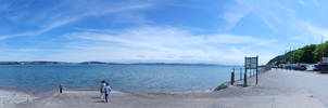 The Way to Mumbles Panoramic