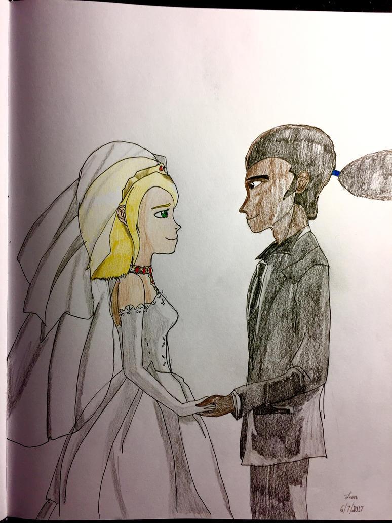 Leon and Ilia's wedding by shadowIlia