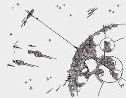 [Inktober 2017] (13th Day) Fermi Paradox