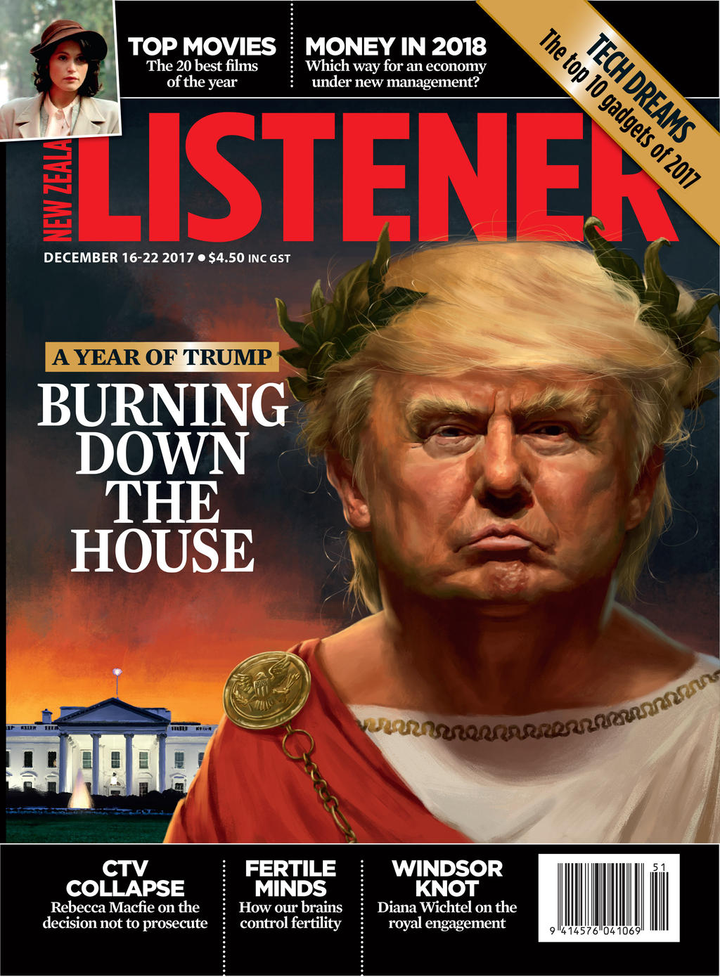 Trump as Nero by JosephQiuArt on DeviantArt