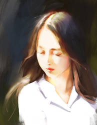 Light study + art tip by JosephQiuArt