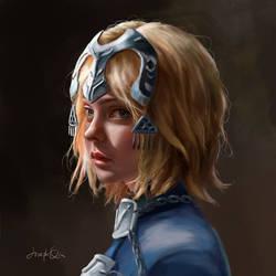 Jeanne d'Arc portrait
