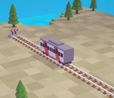 Lastochka train railcar #2