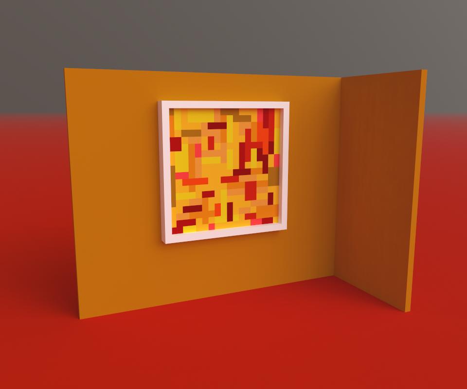 Abstract Pixelart