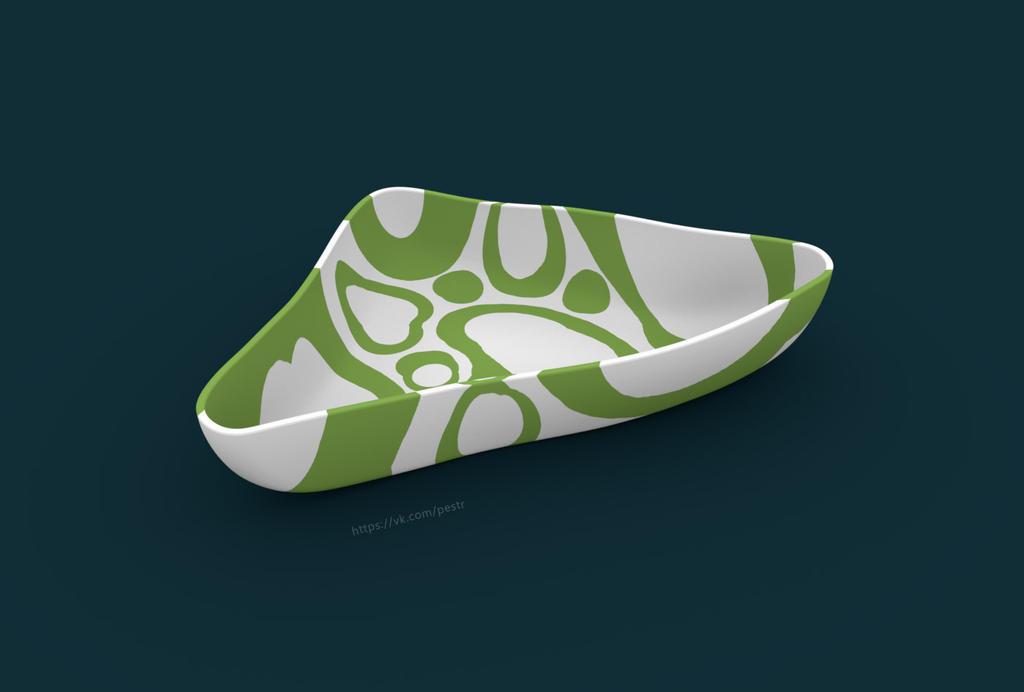 Non-symmetrical bowl