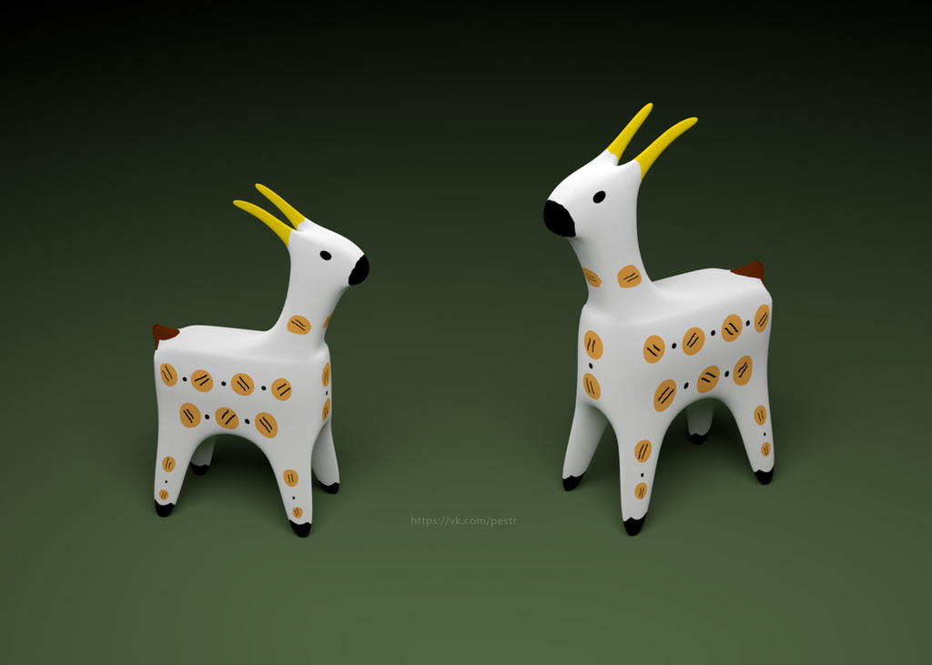 Goats by MikePestr