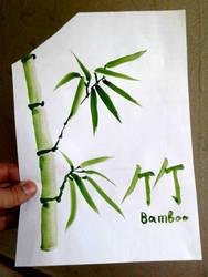 Bamboo draft