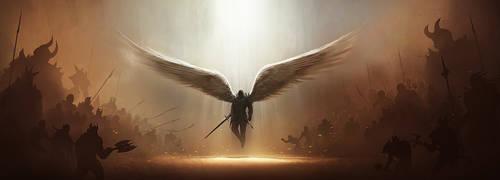 Diablo 3 Tyrael Fan Art 2 by tobylewin