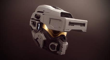 Halo 4 Helmet by tobylewin