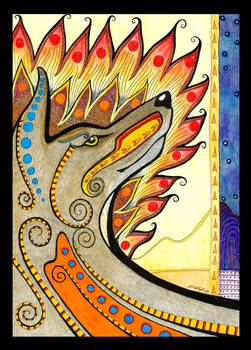 Coyote Totem
