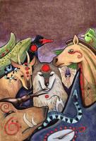 Totem Art by Ravenari