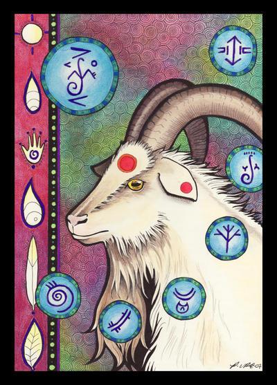 Goat - Totem by Ravenari