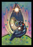 Satin Bowerbird - Totem